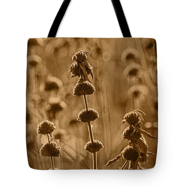 Morning In October Tint Tote Bag