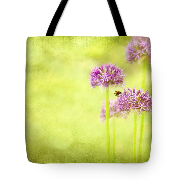Morning In The Garden Tote Bag