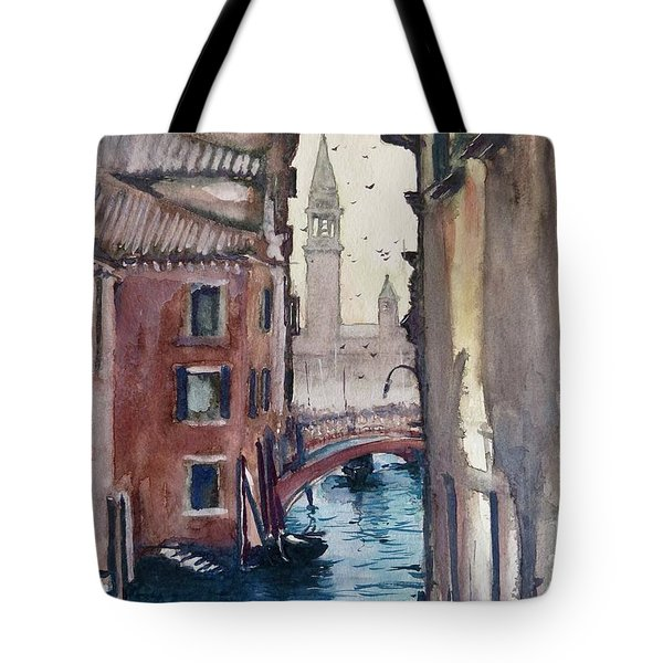 Morning In Venice Tote Bag