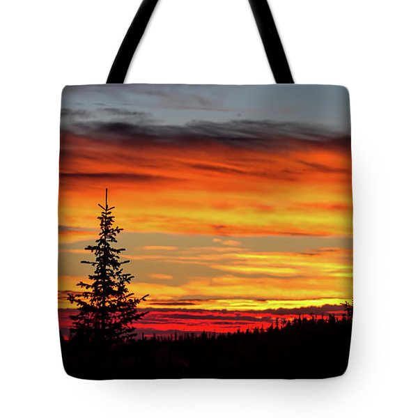Morning Is Breaking Tote Bag