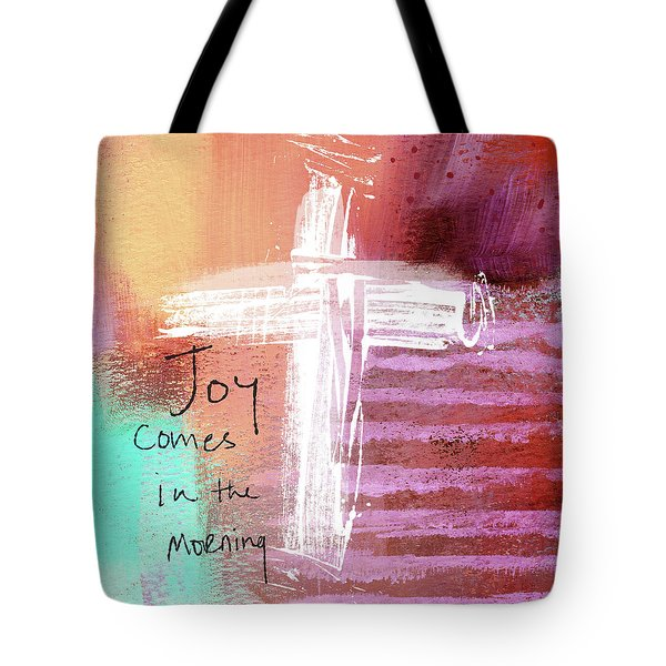 Morning Joy- Abstract Art By Linda Woods Tote Bag