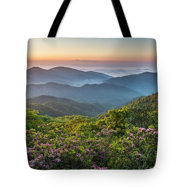 Morning Layers Tote Bag by Anthony Heflin
