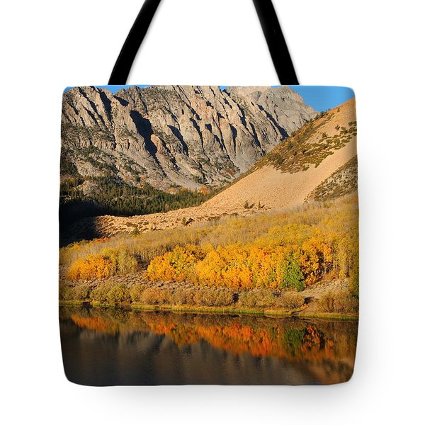 Morning Light At North Lake In The Eastern Sierras Tote Bag