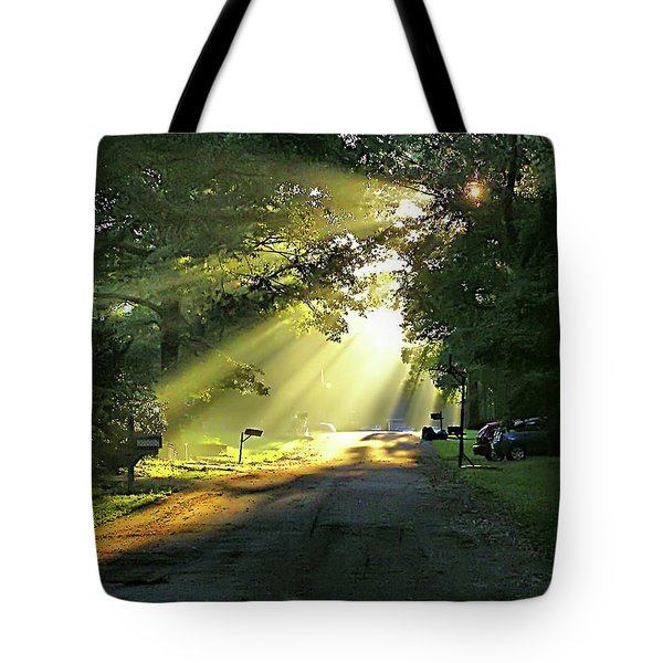 Tote Bag featuring the photograph Morning Light by Brian Wallace