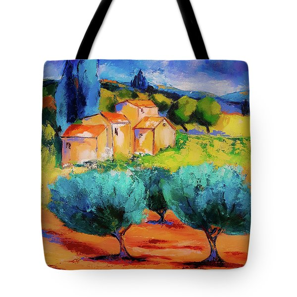Morning Light By Elise Palmigiani Tote Bag by Elise Palmigiani