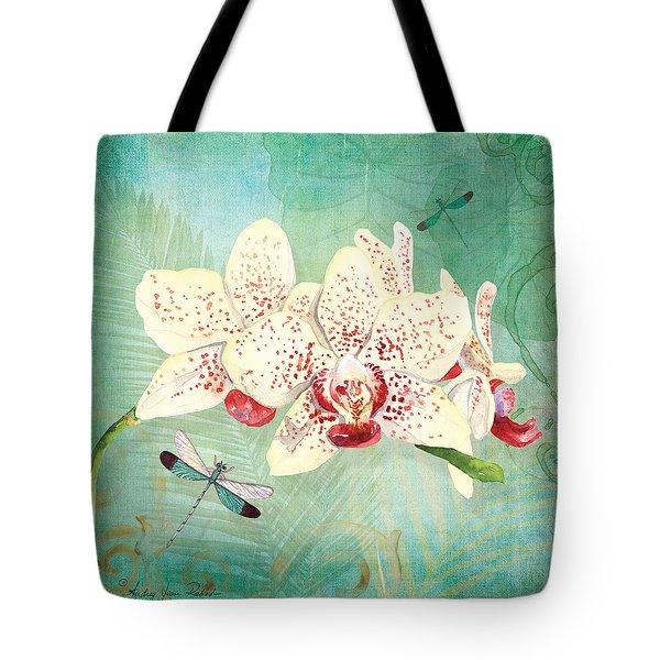 Morning Light - Dancing Dragonflies Tote Bag