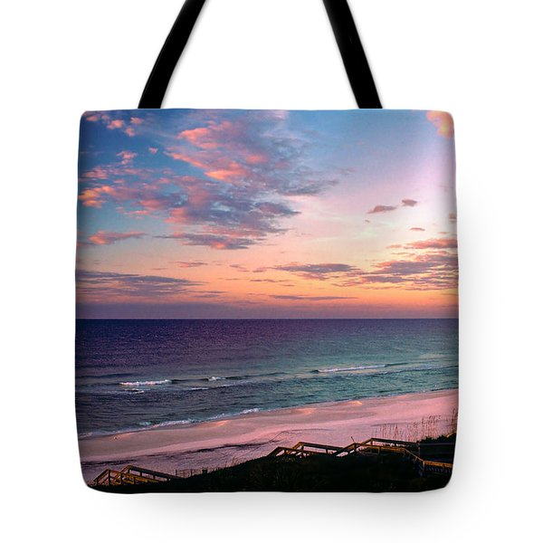 Morning Light On Rosemary Beach Tote Bag