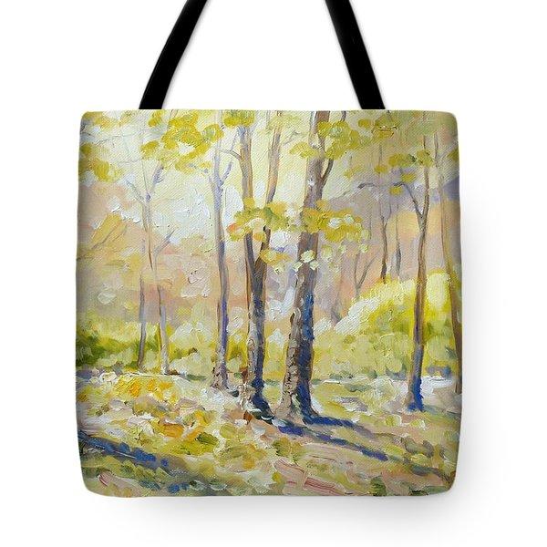 Morning Light - Spring Tote Bag