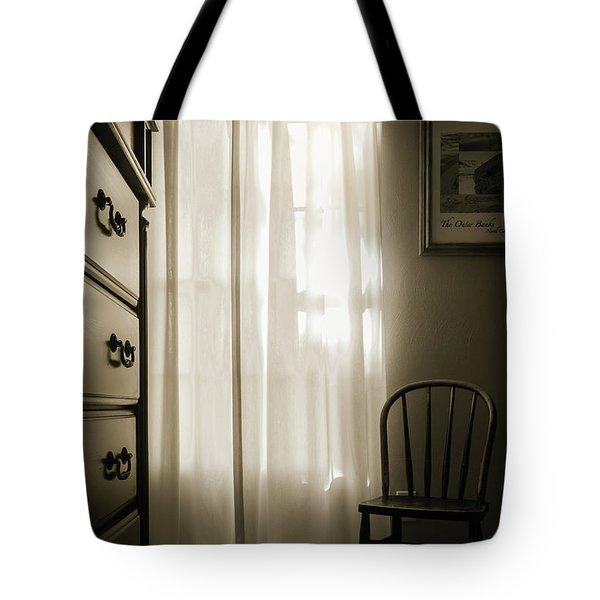 Morning Light Through The Window Tote Bag