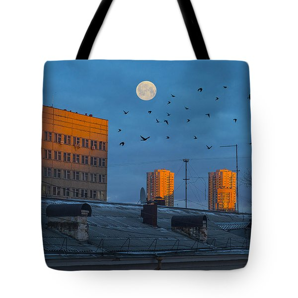 Tote Bag featuring the photograph Morning Light by Vladimir Kholostykh