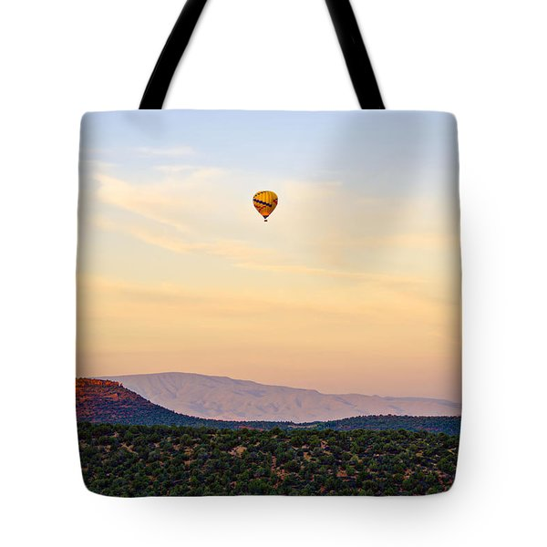 Morning Light With Balloon Tote Bag