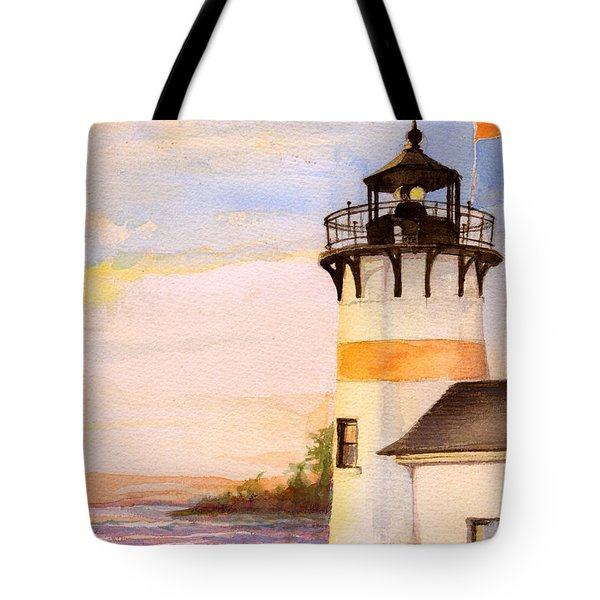 Morning, Lighthouse Tote Bag