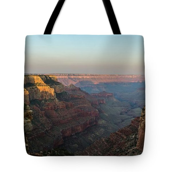 Morning Lights Wotans Throne Tote Bag