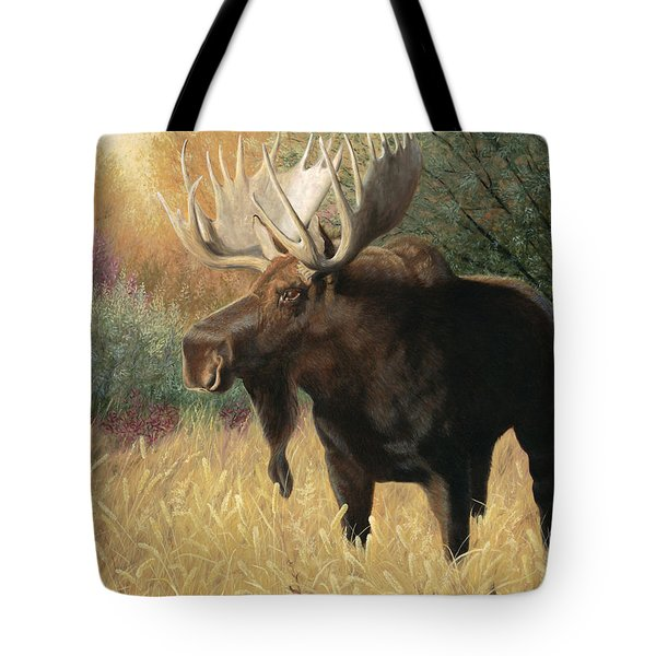 Tote Bag featuring the painting Morning Majesty by Tammy Taylor