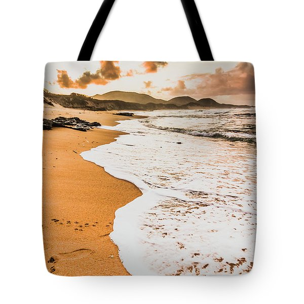 Morning Marine Wash Tote Bag