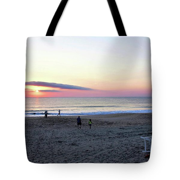 Morning Meditation Tote Bag by Kim Bemis