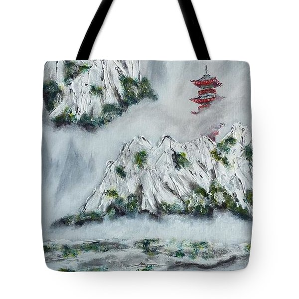 Morning Mist 1 Tote Bag