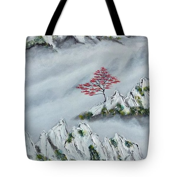 Morning Mist 3 Tote Bag