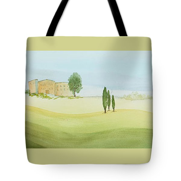 Morning Mist Tote Bag by Bonnie Rabert