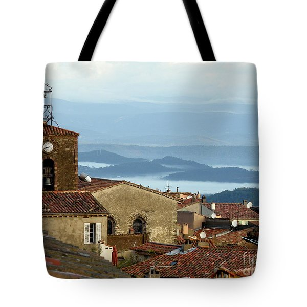 Morning Mist In Provence Tote Bag