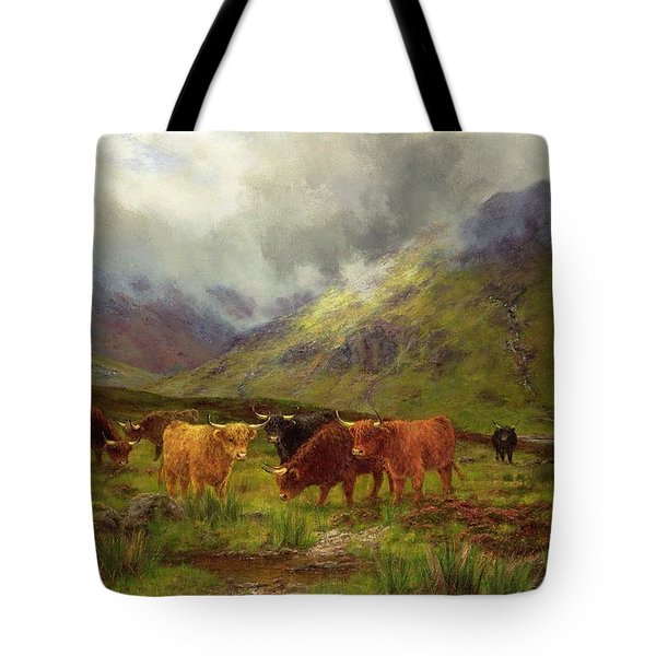 Morning Mists Tote Bag by Louis Bosworth Hurt