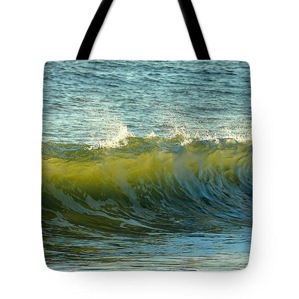 Morning Ocean Break Tote Bag