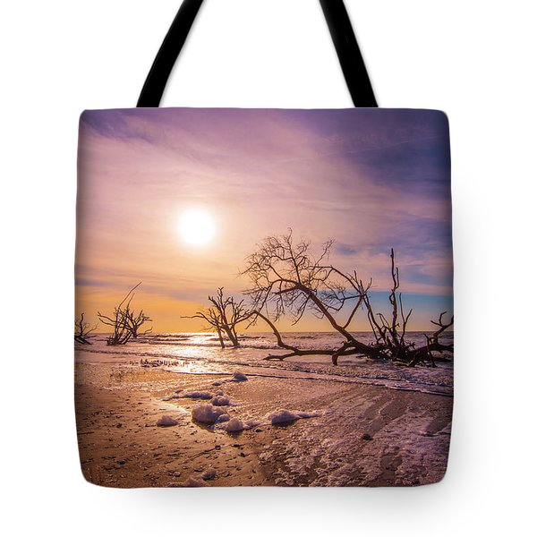 Morning On Boneyard Beach Tote Bag