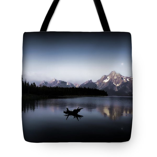 Morning On Jackson Lake Tote Bag