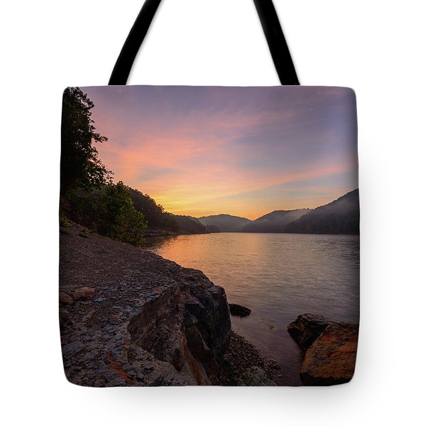 Morning On The Bay Tote Bag
