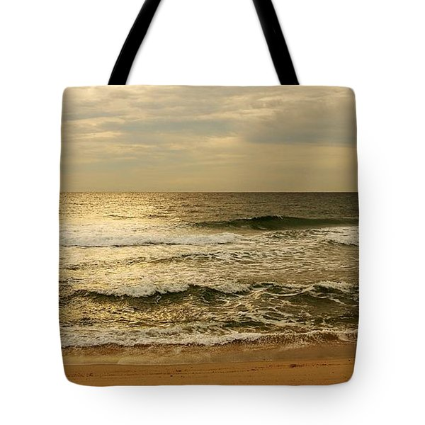 Morning On The Beach - Jersey Shore Tote Bag