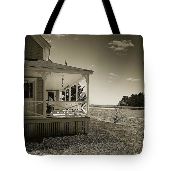 Tote Bag featuring the photograph Morning On The Marsh by Samuel M Purvis III