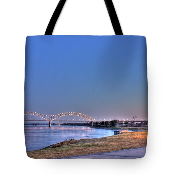 Morning On The Mississippi Tote Bag