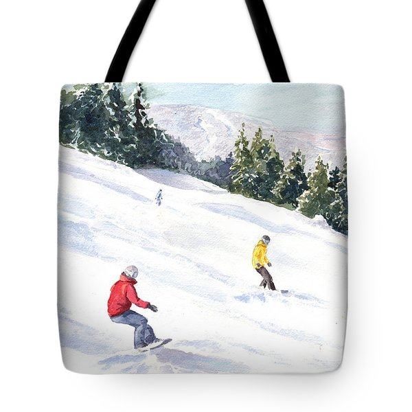 Morning On The Mountain Tote Bag