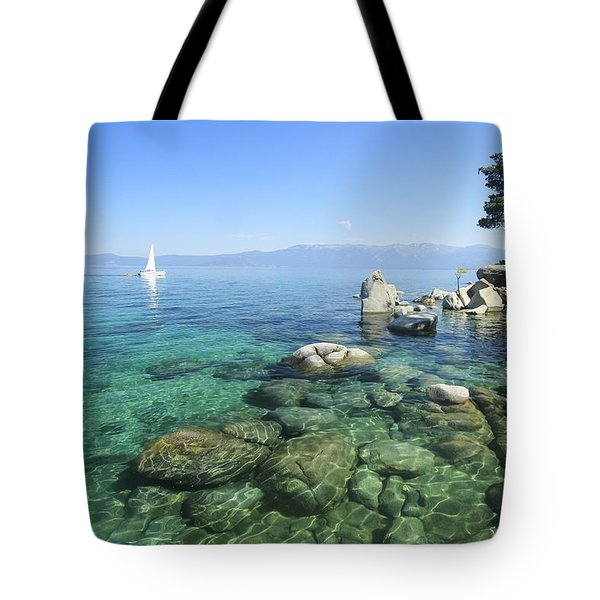 Tote Bag featuring the photograph Morning On The Water by Sean Sarsfield