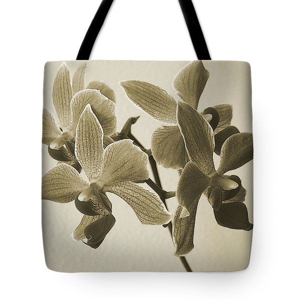 Morning Orchid Tote Bag