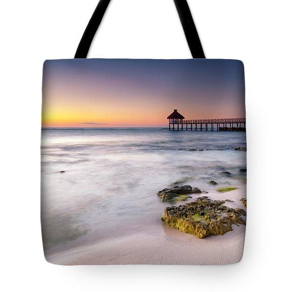 Morning Pastels Tote Bag