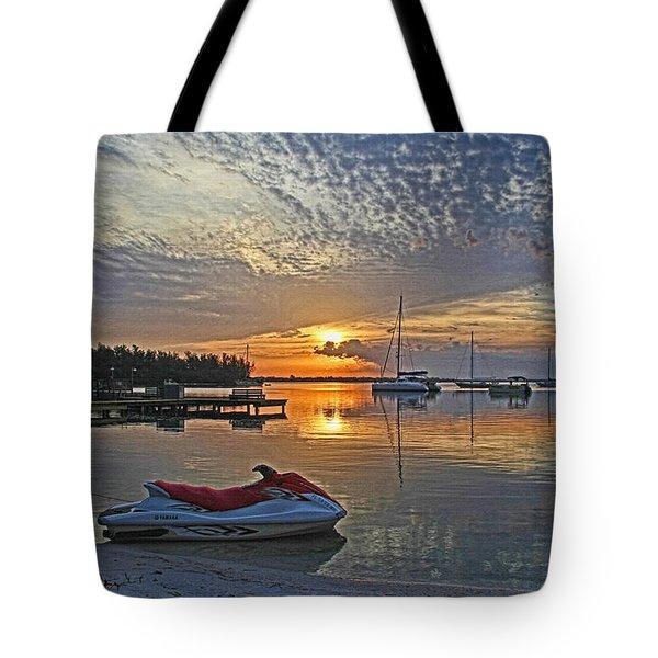 Morning Peace - Florida Sunrise Tote Bag
