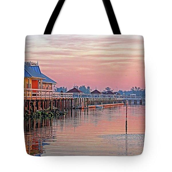 Morning Peace Tote Bag