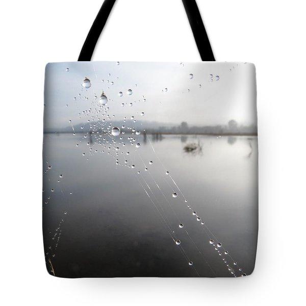 Morning Pearls Tote Bag by I'ina Van Lawick