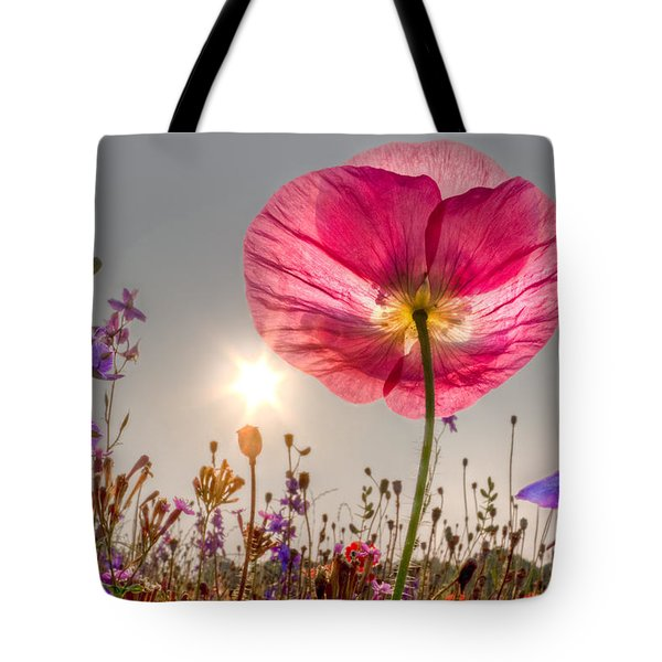 Morning Pink Tote Bag