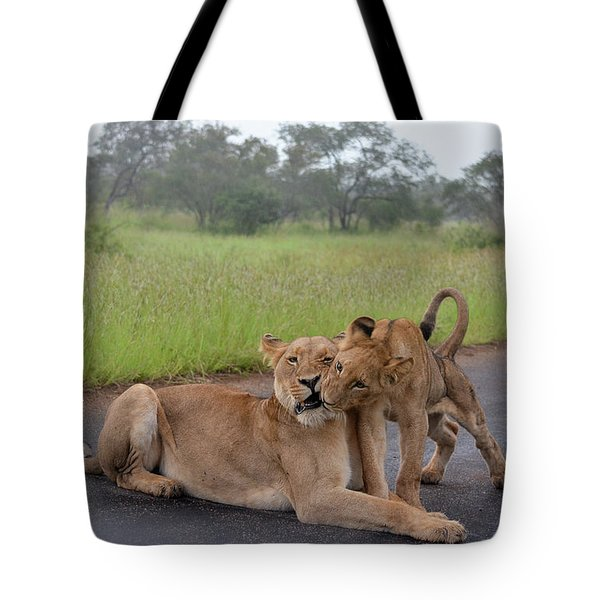 Morning Play Tote Bag