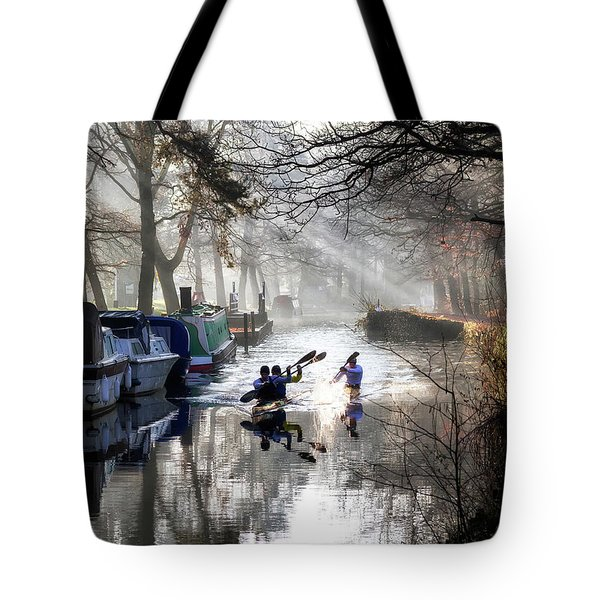 Morning Practice Tote Bag by Shirley Mitchell