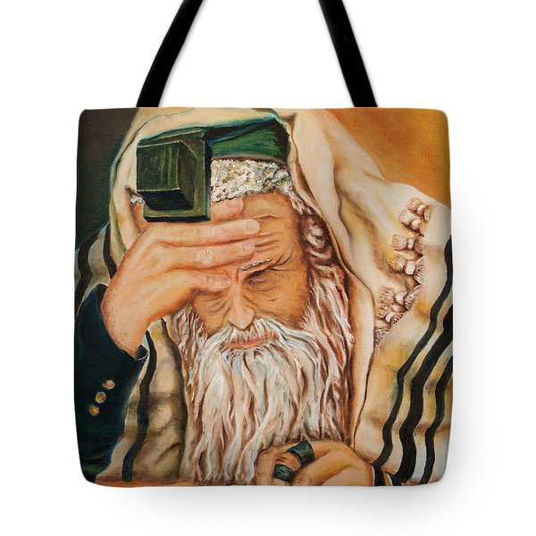 Morning Prayer Tote Bag by Itzhak Richter