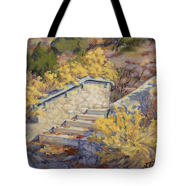 Morning Quail  Tote Bag