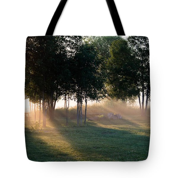 Morning Rays Tote Bag