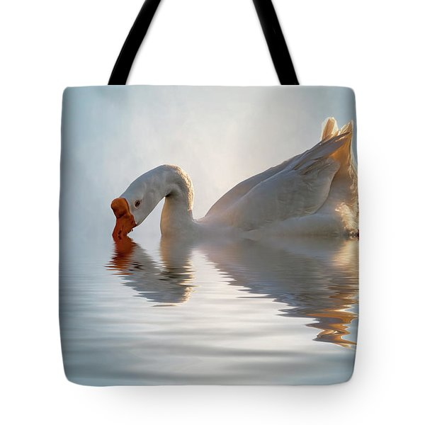 Morning Refresh Tote Bag by Cyndy Doty