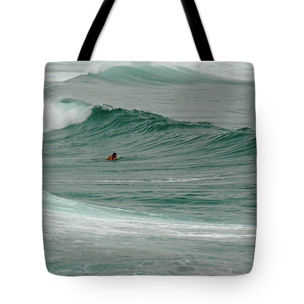 Morning Ride Tote Bag by Evelyn Tambour