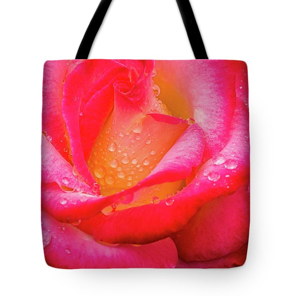 Morning Rose For You Tote Bag by Ken Stanback