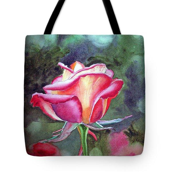 Morning Rose Tote Bag by Irina Sztukowski