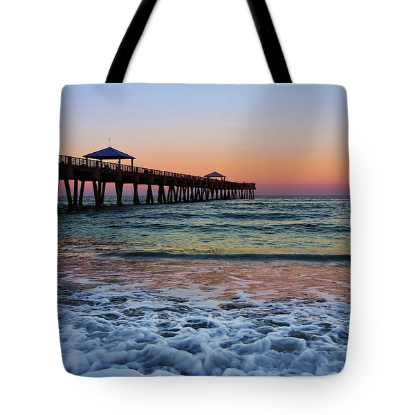 Tote Bag featuring the photograph Morning Rush by Laura Fasulo